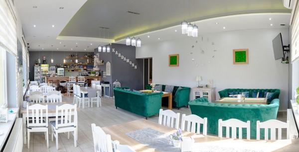 wnętrze restauracji Kardamonn 16