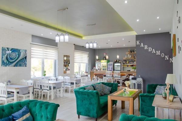 wnętrze restauracji Kardamonn 13