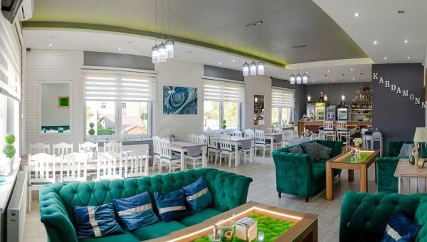 wnętrze restauracji Kardamonn 14