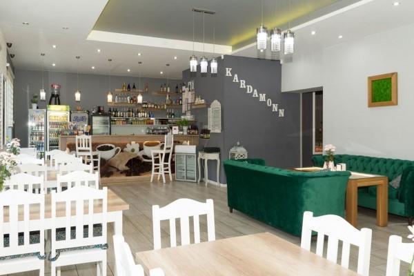wnętrze restauracji Kardamonn 21
